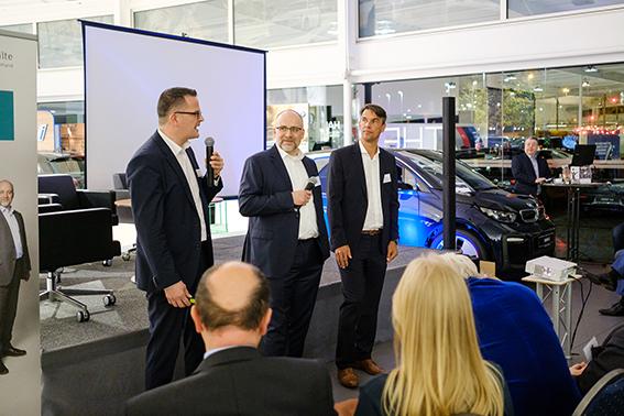 Marcus Lasar, Martin Goege und Matthias Dröge  (ETL Rechtsanwälte Dortmund)